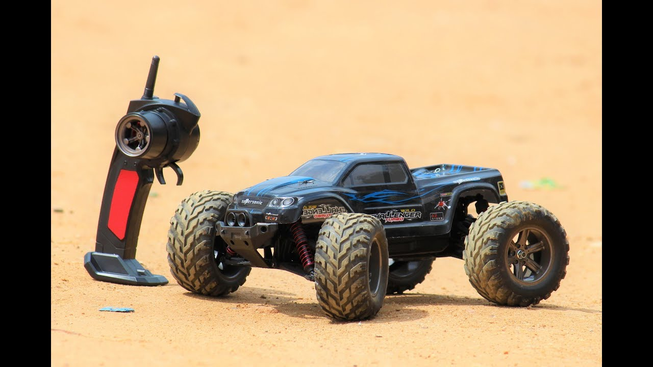 Rc Car Rc Monster Truck Amazing Rc Car Top Speed 45 Klmt Youtube