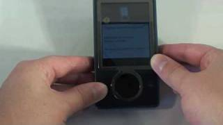 How to Reformate a Zune 30GB