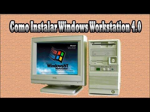 Como instalar Windows NT 4.0 Workstation + IE5.5 Firefox2.2 e Audio funcionando.