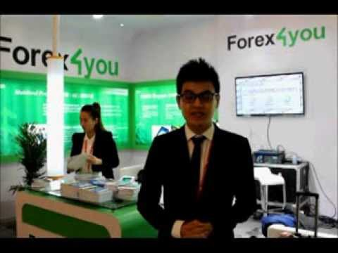 Forex4you at Money Fair 2013 in Shanghai