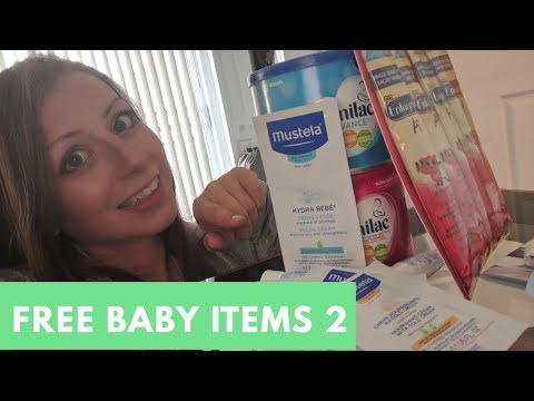 Free Baby Items 2 - Canadian Baby Freebies - What I Got For Free