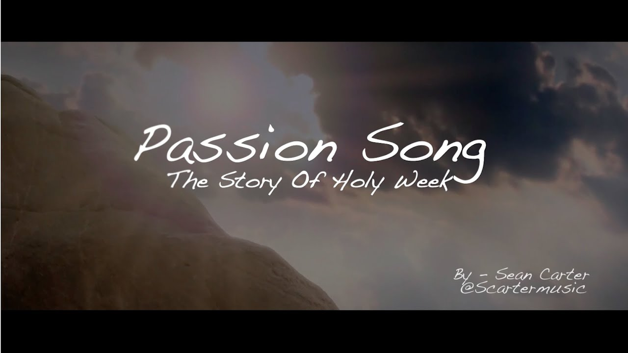 A very powerful outline of Holy Week events through song.
