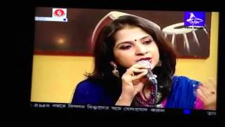 Kaushiki, daughter of Pandit Ajoy Chakrabarty at Tara Music