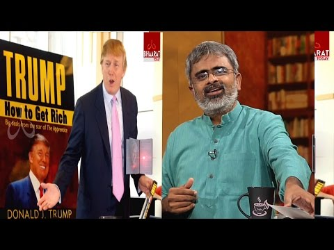 Face The Book | Akella Raghavendra | Donald Trump How to Get Rich | Episode No 2 | - Bhaarat Today