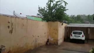 Chuvas caidas em Limoeiro do Norte alivia o calor e gera esperança de inverno