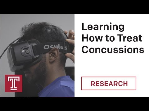 Using Virtual Reality to Improve Concussion Diagnosis