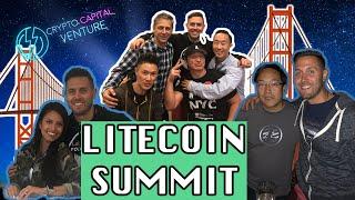 LITECOIN SUMMIT in Under 4 Minutes - Crypto Capital Venture Short