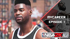 Let's Play NBA 2K18 MyCareer Gameplay German Deutsch Tutorials