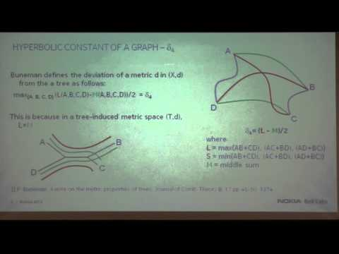"Advanced Networks Colloquium: Iraj Saniee, ""Fast approximation algorithms for p-center computation"""