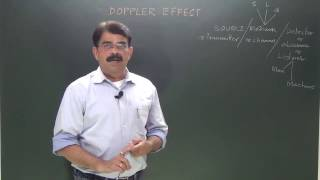 CLASS XI_Doppler effect in Sound - 1 - Introduction
