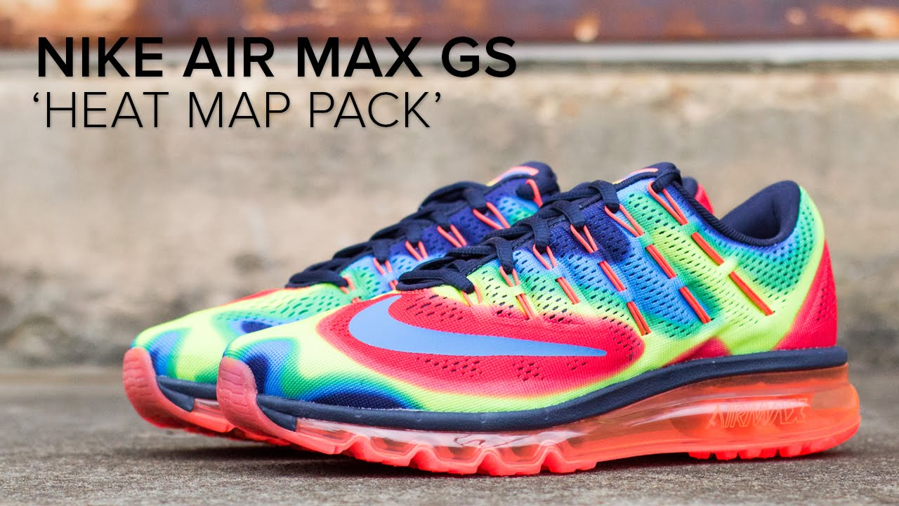 best service 952bb 583f5 Nike Air Max Heat Map Pack Quick Look - YouTube