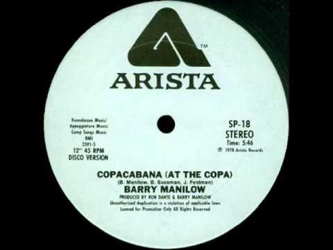 barry manilow  'copacabana'  disco version 1978