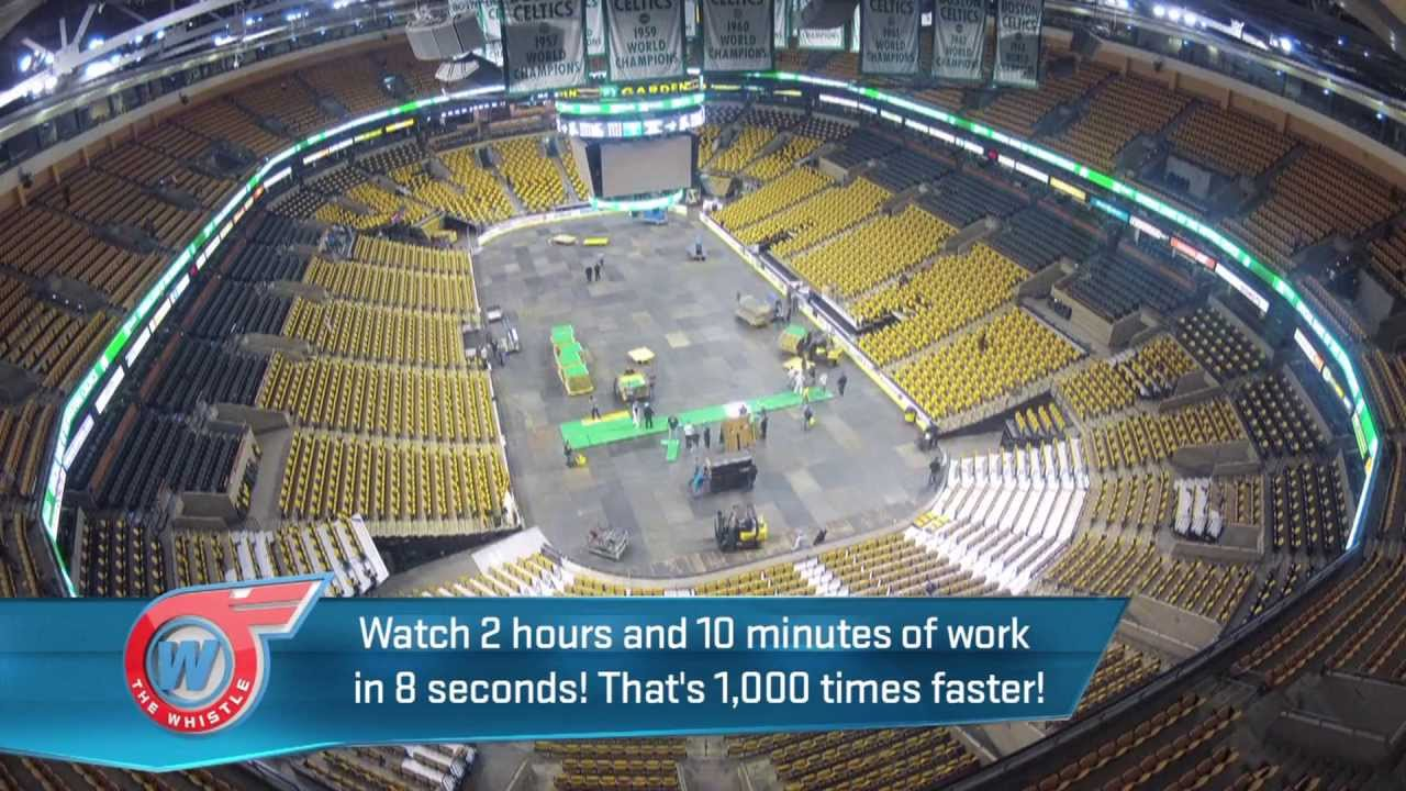 How Do They Change Floors At Boston Garden Rob Gronkowski