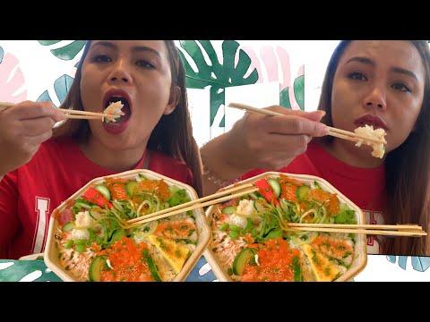 Part 1 Cambridge Vlog / Eating At Wasabi sushi and bento bar