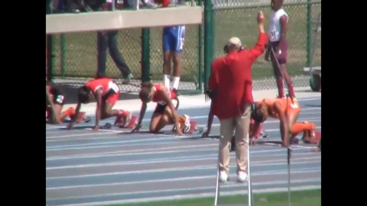 World Fastest 11 year old Lauren Rain Williams 100m 11 94