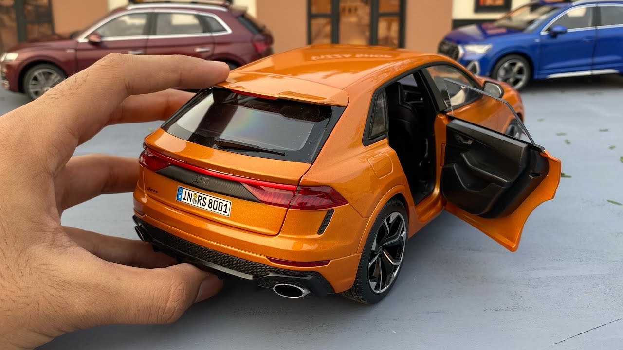 Mini Audi RSQ8 Diecast Model Car Unboxing | Super SUV | Audi Sport