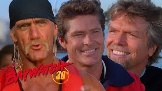 10 Famous Cameos On Baywatch! Do you recognise them all? Baywatch Remastered