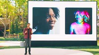 Google Keynote (Google I/O '21) - Ameŗican Sign Language