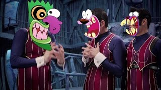 We Are Number One but everytime they say one Courage the Cowardly Dog screams