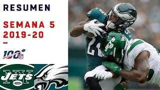 Eagles no tuvo piedad ante los pobrecitos Jets | Highlights Jets vs Eagles