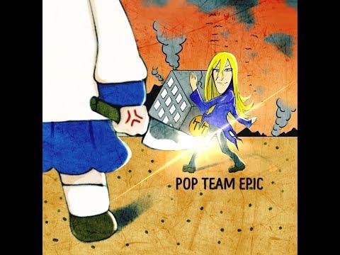 【飲んでみた】ポプテピピックOP『POP TEAM EPIC / 上坂すみれ』 【弾いてみた】