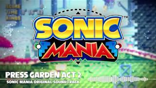 Sonic Mania OST - Press Garden Act 2