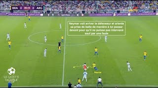 Neymar : l'intelligence de ses déplacements et de ses dribbles