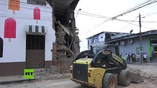 Perú: Yurimaguas trata de volver a la normalidad tras el fuerte terremoto de magnitud 8