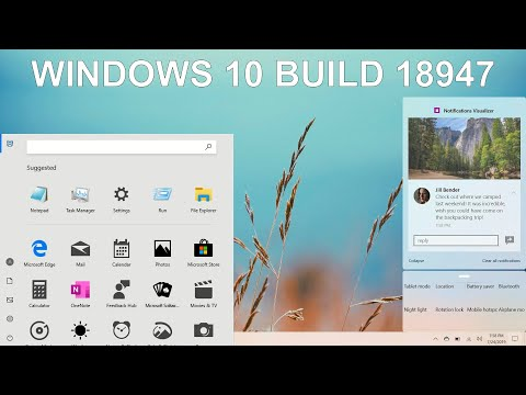 Windows 10 build 18947 - A Leaked Internal Windows 10 Build!