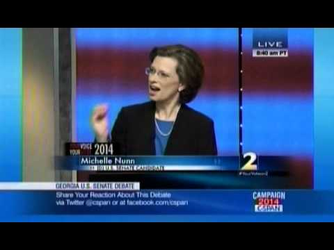 Michelle Nunn Completely Dodges On If She Would Have Voted For ObamaCare