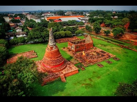 Ayutthaya in 4K (Drone)