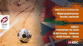 Międzypaństwowy turniej Juniorek - Siemiatycze 2019 | LIVE | Dzień 2