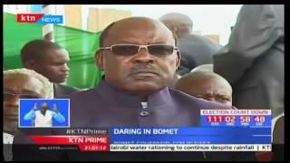 Biggest political gamble so far as Bomet Governor Isaac Ruto joins NASA