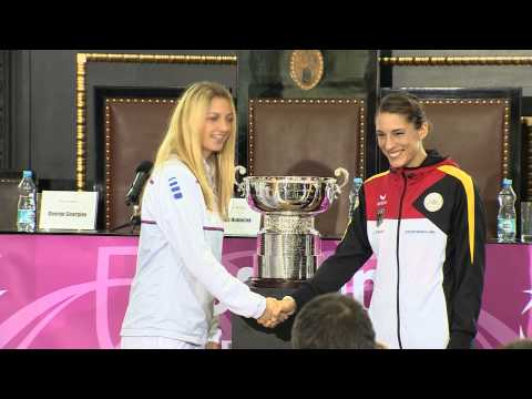 2014 Fed Cup Final | Official Fed Cup - Highlights of the draw in Prague