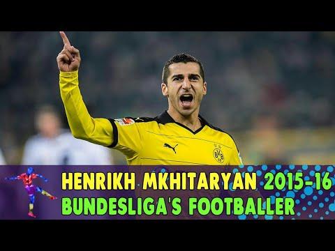 Dortmund's Henrikh Mkhitaryan is 2015-16 Bundesliga's footballer