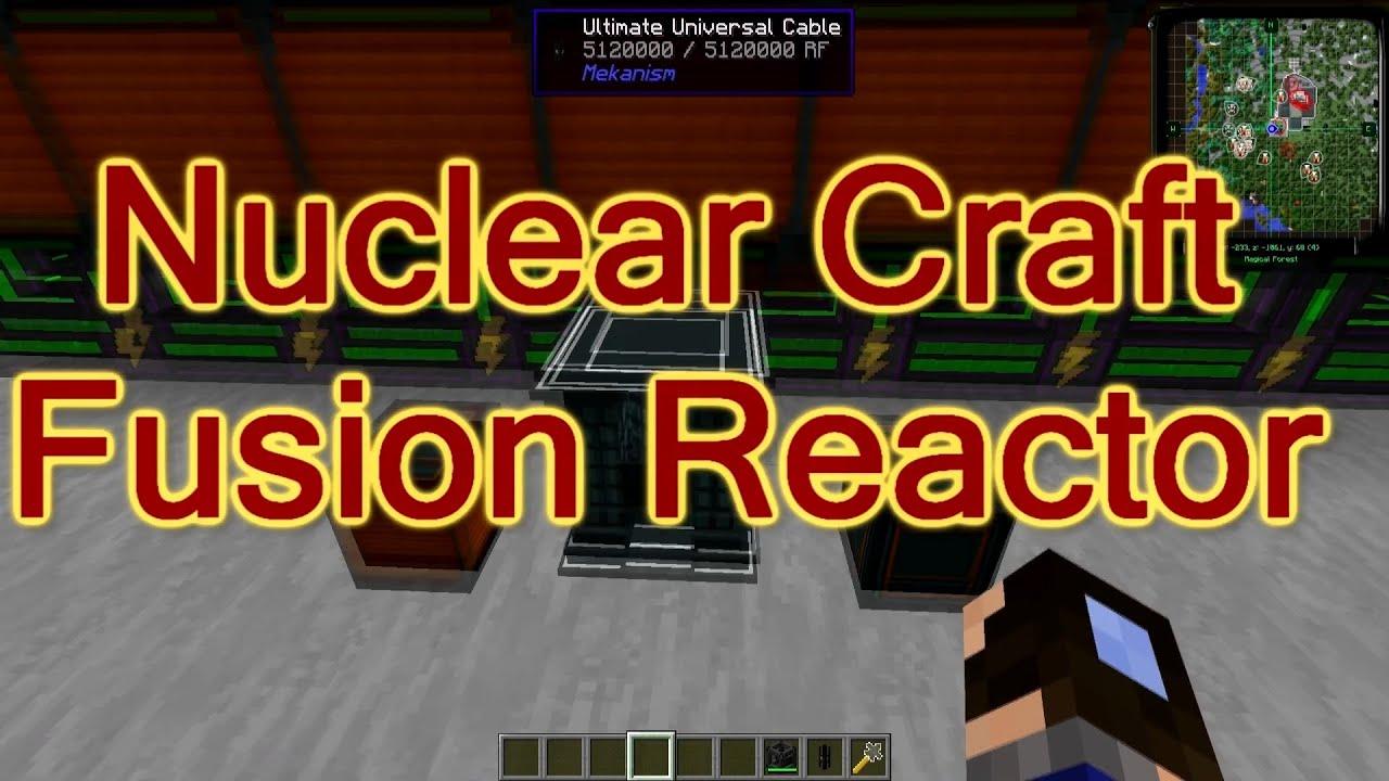 Лаборатория гайдов - Nuclear Craft  Fusion Reactor