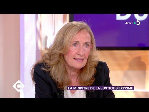 La Ministre de la Justice Nicole Belloubet s'exprime - C à Vous - 20/06/2018