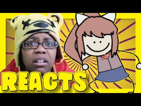A Little Bit Of Monika | DDLC Animation Reaction