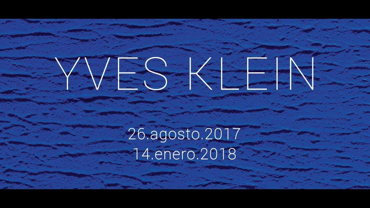 Yves klein en el muac sum rgete en el azul youtube for A piscina yves klein
