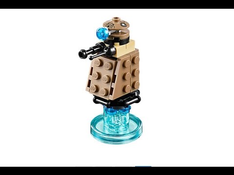 Dalek How To Build Lego Dimensions 71238 Youtube