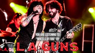 "LA GUNS - ""Wheels Of Fire"" - Official Audio"