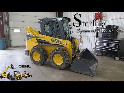 Gehl R190 Skid Loader Overview By Sterling Equipment & Repair