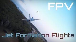 Air to Air! FPV Jet Formation Flights !! - HD 50fps