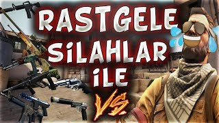 RASTGELE SİLAHLAR İLE VS ATIYORUZ !! SİLAH YARIŞI EFSANE! (CS:GO)