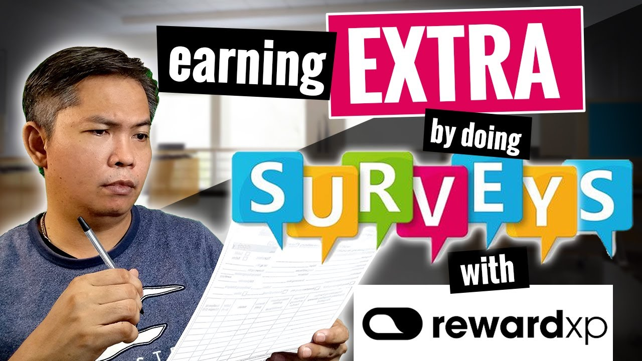 Earning Extra by doing Surveys on RewardXP