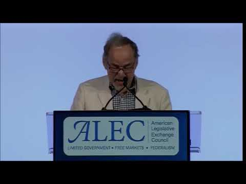David Horowitz at 2018 ALEC Conference in New Orleans