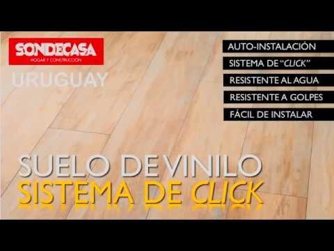 Pisos Vinilicos SONDECASA Sistema Click Sin Pegamento de Alto Transito