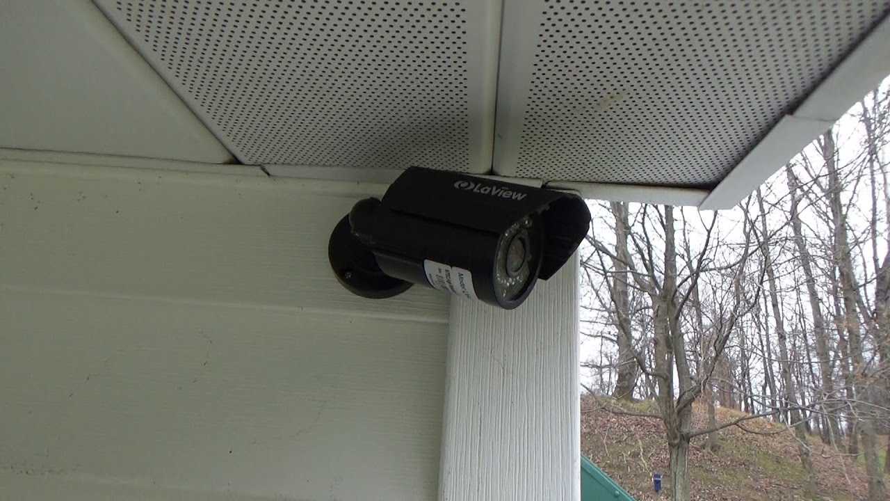 security camera hidden under ceiling