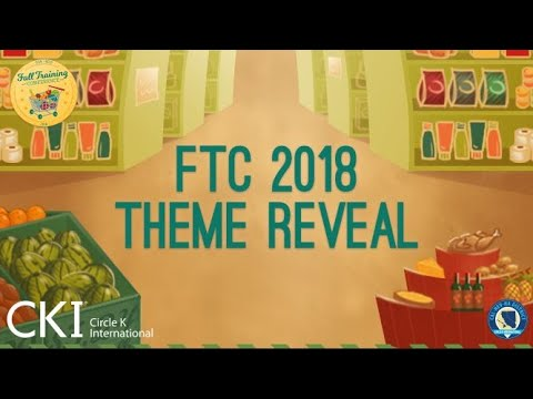 CNH Circle K Fall Training Conference 2018 Theme Reveal