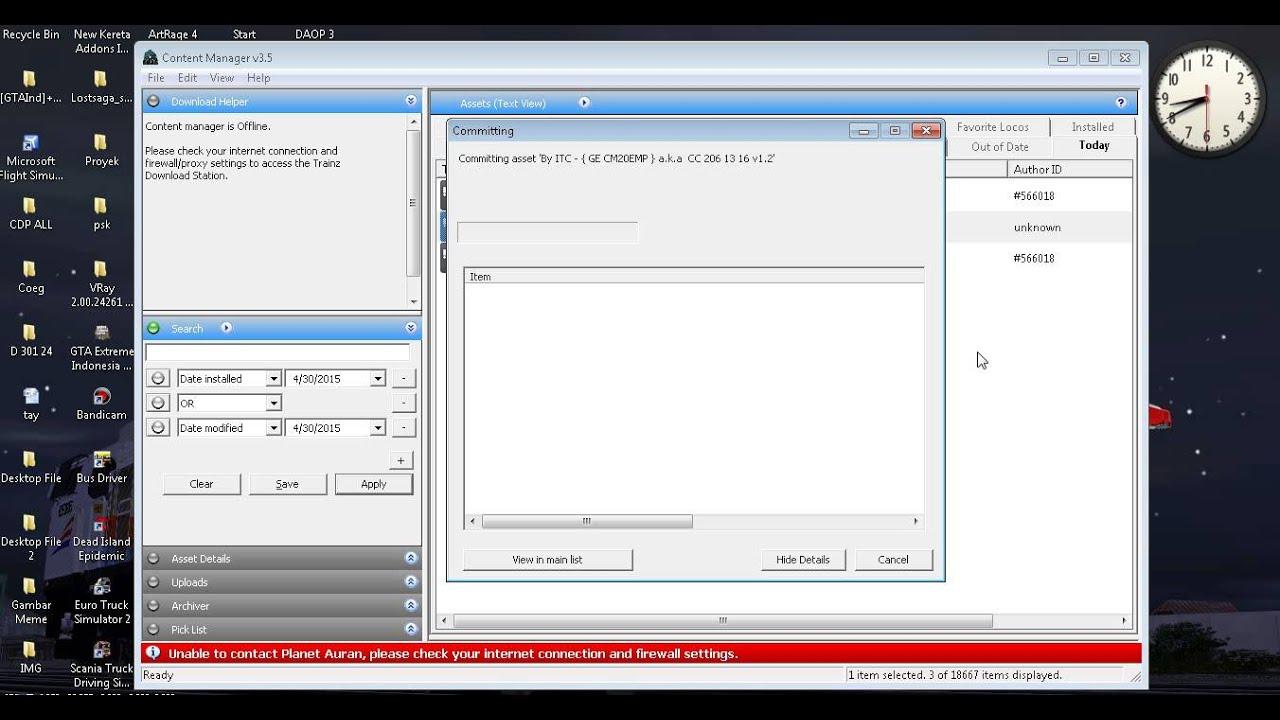 trainz how to fix missing dependencies
